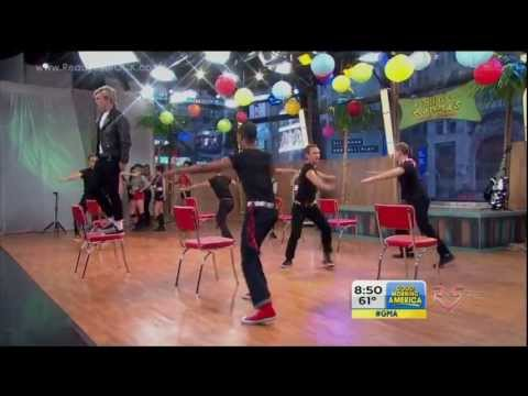 Good Morning America - Teen Beach Movie Cast - Cruisin' For A Bruisin' [HD]