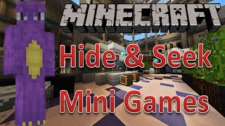 minecraft mini games   hide and seek 10   who are you   l for leeeeee x weeweegaming