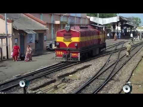 INDIAN RAILWAYS Narrow gauge Satpura Express departs Balaghat to cross Satpura ranges