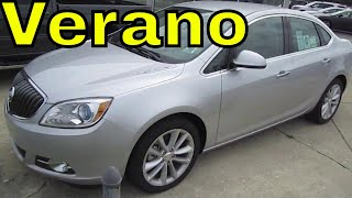 2012 BUICK VERANO REVIEW CLOSER LOOK Engine Start Up