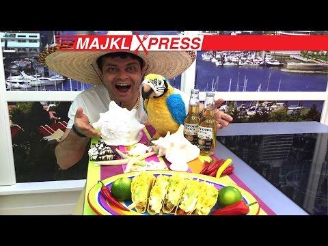 Nejchutnější recept na Tacos, salsa Pico de Gallo a Guacamole, Vařte s Majklem
