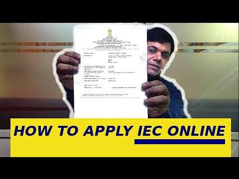 Import Export Code (IEC) खुद से Online कैसे Apply करें ?