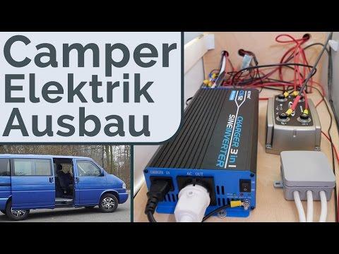 VW T4 Camper 12V Bord Elektrik - DIY Ausbau Camping Bus