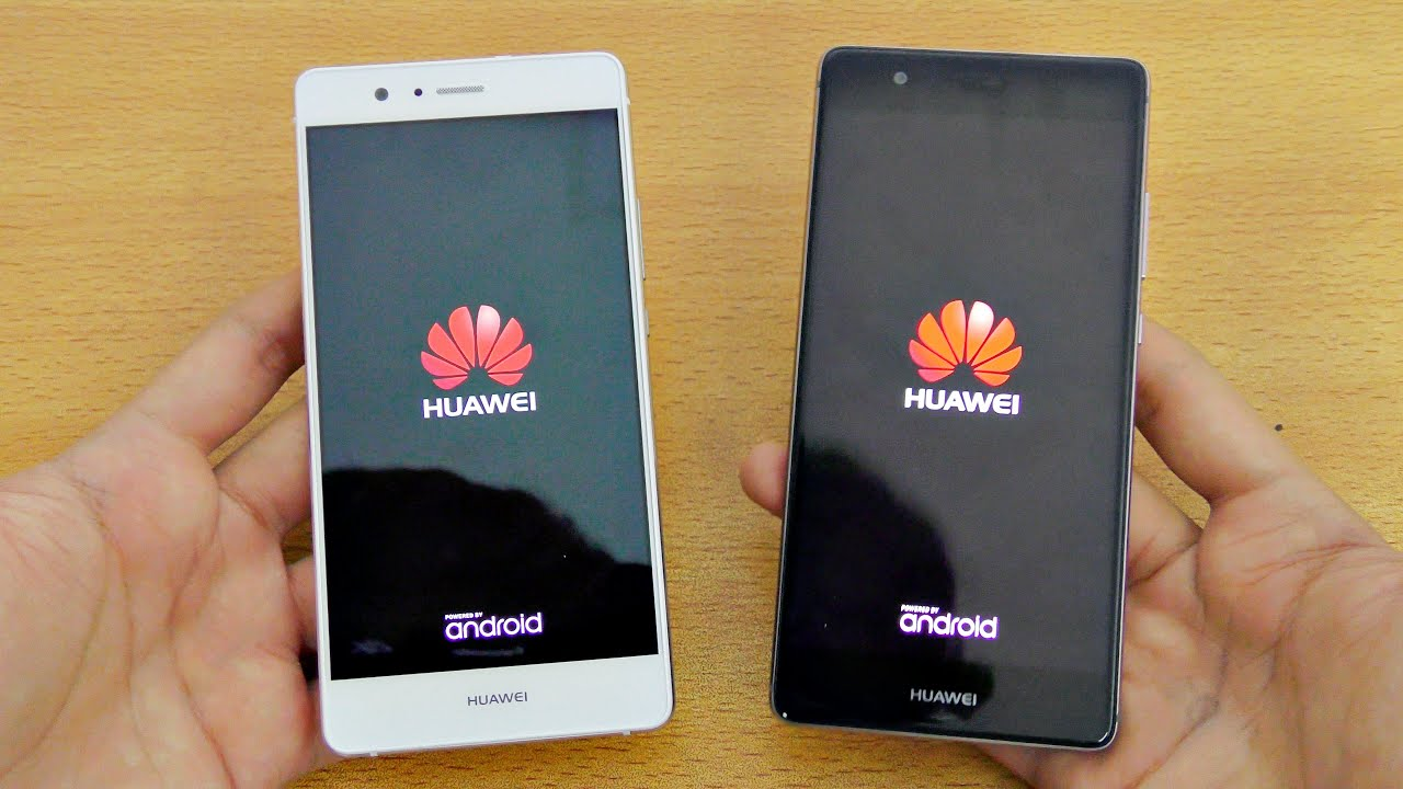 Grey And Gold Huawei P9 Lite Vs P9 Speed Test 4k Youtube