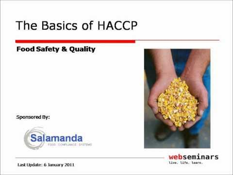 The HACCP Basics