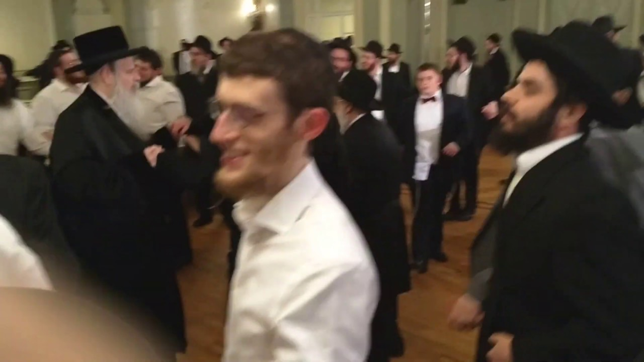 Rebbes at Meyers - Kupfer Wedding - Shvat 5779