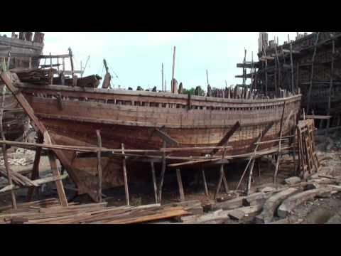 The shipyard of Mandvi (Gujarat - India)