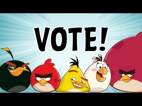 Angry Birds Toons | Vote for Your Favorite Bird of the Series S1