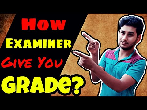 How CIE Examiner Check YOUR O/A LEVEL PAPER (2019 And Beyond)