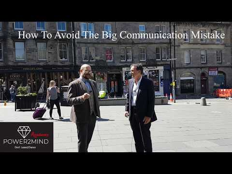 How To Avoid  Avoid The Big Communication Mistake -The Big Secret