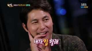 SBS [한밤의TV연예] - 여름밤의 특급 팬서비스 정우성