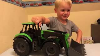 LENA Worxx Traktor beim Spielzeugtester