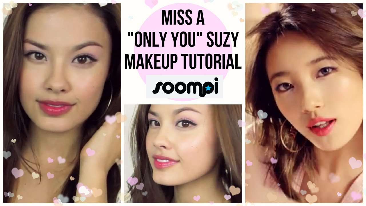"Miss A ""Only You"" Suzy M/V Kpop Makeup Tutorial"