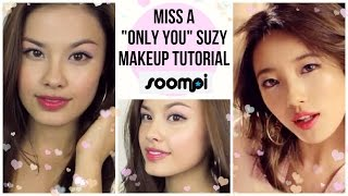 """Miss A """"Only You"""" Suzy M/V Kpop Makeup Tutorial"""