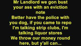 DJ Khaled - Welcome To My Hood [Feat. T-Pain, Rick Ross, Plies & Lil Wayne) (Lyrics)