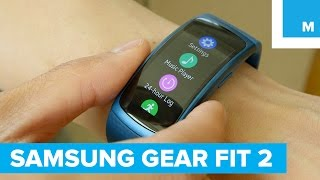Samsung's Gear Fit 2 is an Advanced Activity Tracker | Mashable
