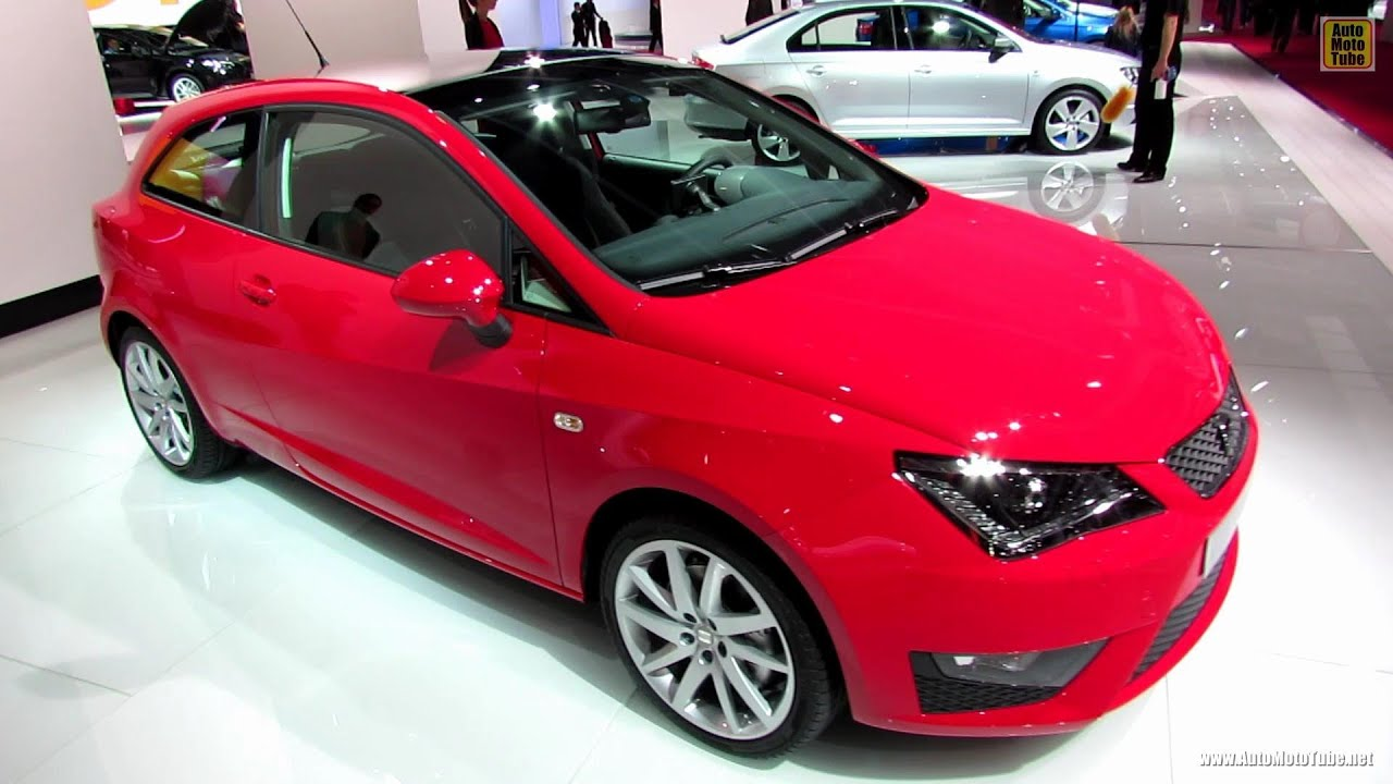 2013 seat ibiza fr exterior and interior walkaround 2012 paris auto show youtube. Black Bedroom Furniture Sets. Home Design Ideas