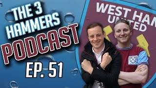The Three Hammers Podcast! Ep. 51: Outgoings   Happy Fans   Q&A