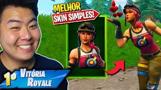 IS THIS THE BEST SIMPLE SKIN OF FORTNITE? * 800 VBUCKS *-Fortnite Battle Royale