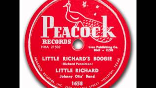 Little Richard Johnny Otis Band - Directly From My Heart To You - Peacock 5-1658 - 1956
