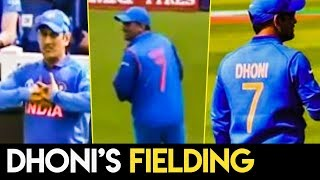 ICC World Cup 2019 : Crowd Chants 'Dhoni' For His Fielding    India vs New Zealand Match Highlights