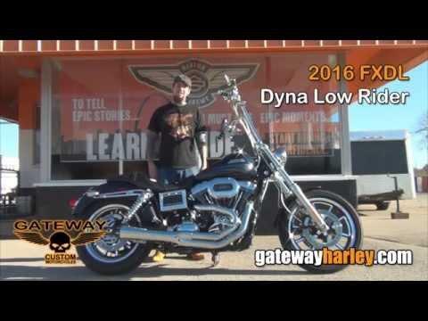 2016 Harley Davidson Dyna Low Rider