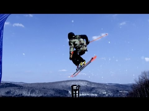 Science of the Winter Olympic Games: Physics of Slope-Style Skiing