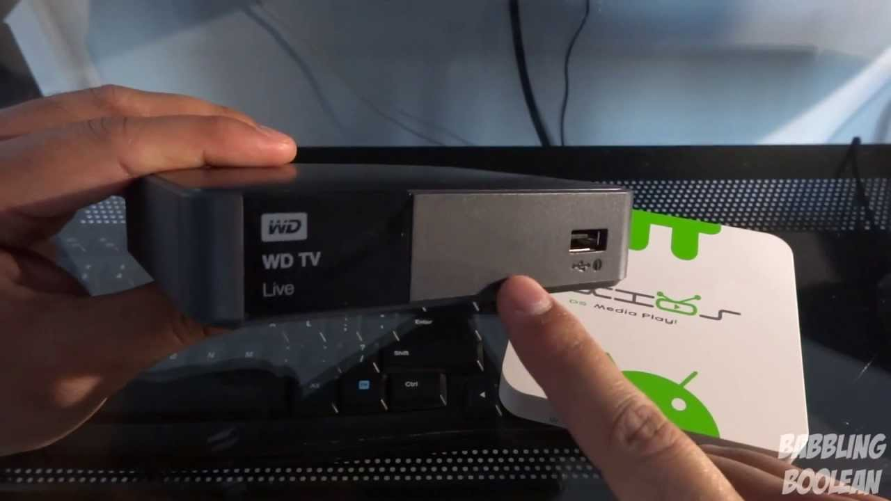 WD TV Live Media Player vs Pivos XIOS Android (& XBMC) Media Player