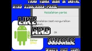 Tutorial Mengatasi Aplikasi Tidak Terpasang/Kesalahan Parse Android Works 100%