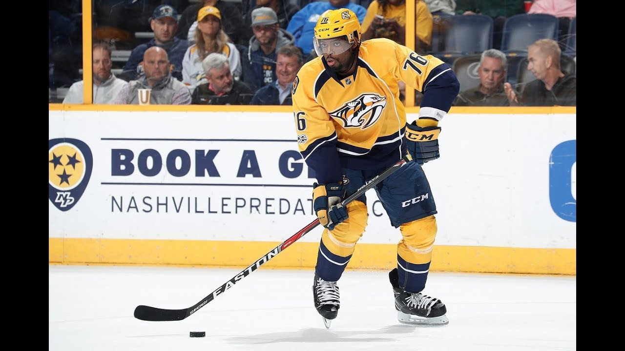 Devil of a deal: New Jersey lands PK Subban from Nashville