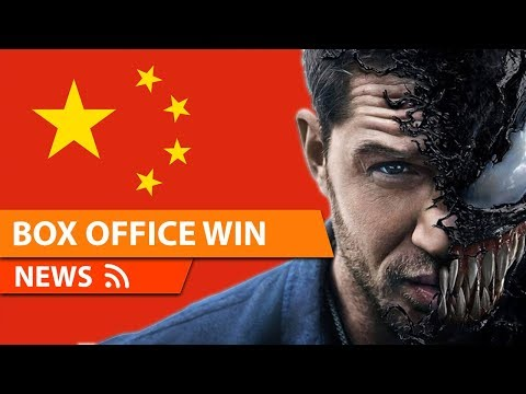 VENOM Breaks Records in China Opening Weekend & More