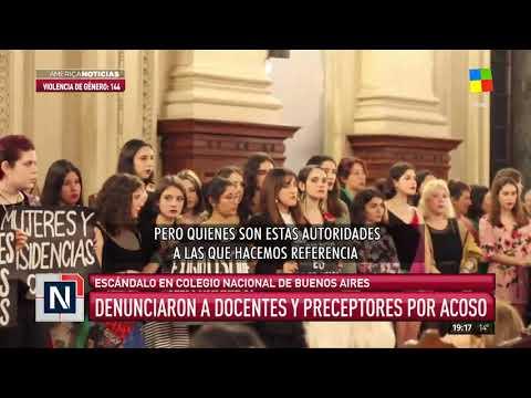Denuncias de acoso en el Nacional Buenos Aires