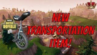 Fortnite Update: LEAKED TRANSPORTATION ITEM COMING SOON! + NEW IMPULSE GRENADE! (Top Player)