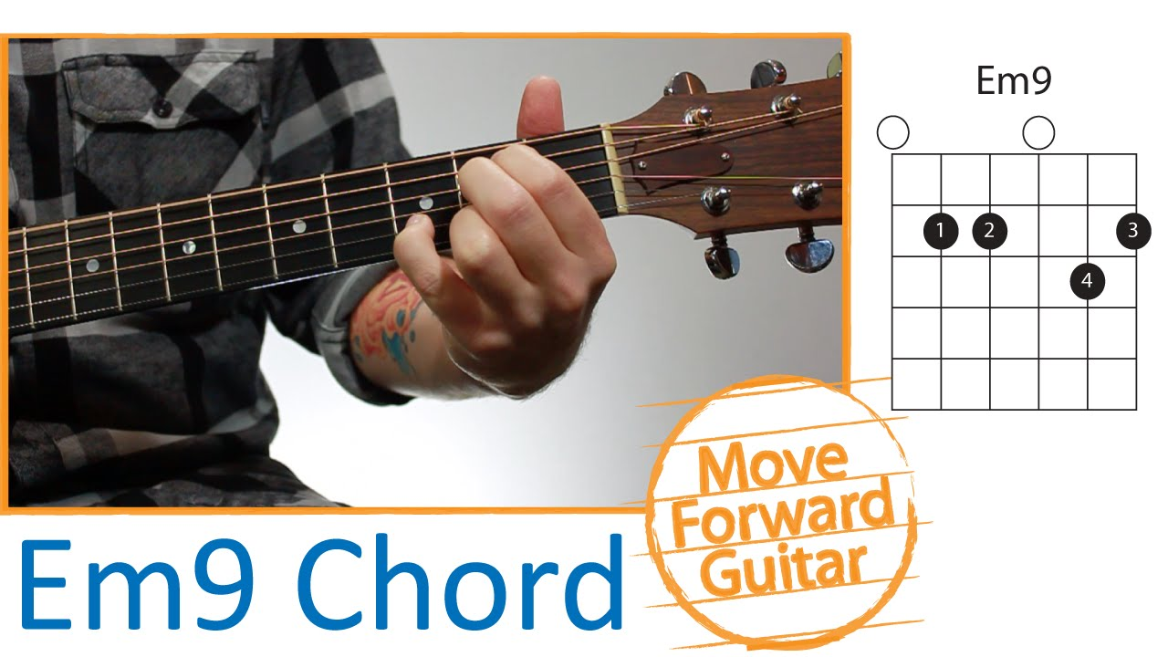 Guitar Chords for Beginners - Em9 - YouTube