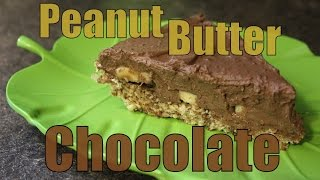 Chocolate Peanut Butter Pie + Oat Crust Recipe Vegan