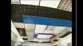 Видеоинструкция по монтажу металлических потолков Албес.(Показаны особенности монтажа разных типов металлических подвесных потолков Албес. Сборка панелей потолка..., 2015-05-13T12:19:10.000Z)