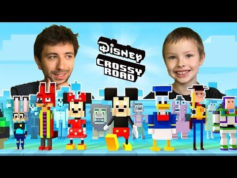 Disney Crossy Road - Nowe plansze! [Iniemamocni, Vaiana, Myszka Miki, Aladyn i Piraci z Karaibów]