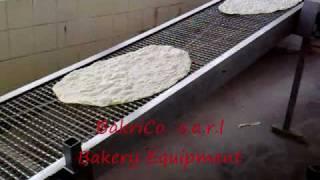 Lavash Bread Machine 1 Row-Bakrico Bakery Equipment Lebanon .wmv