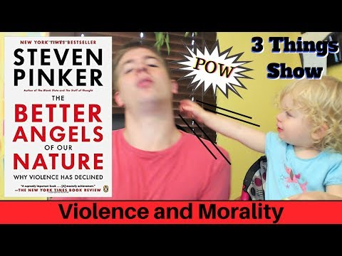The Better Angels of Our Nature by Steven Pinker - 3 Big Ideas