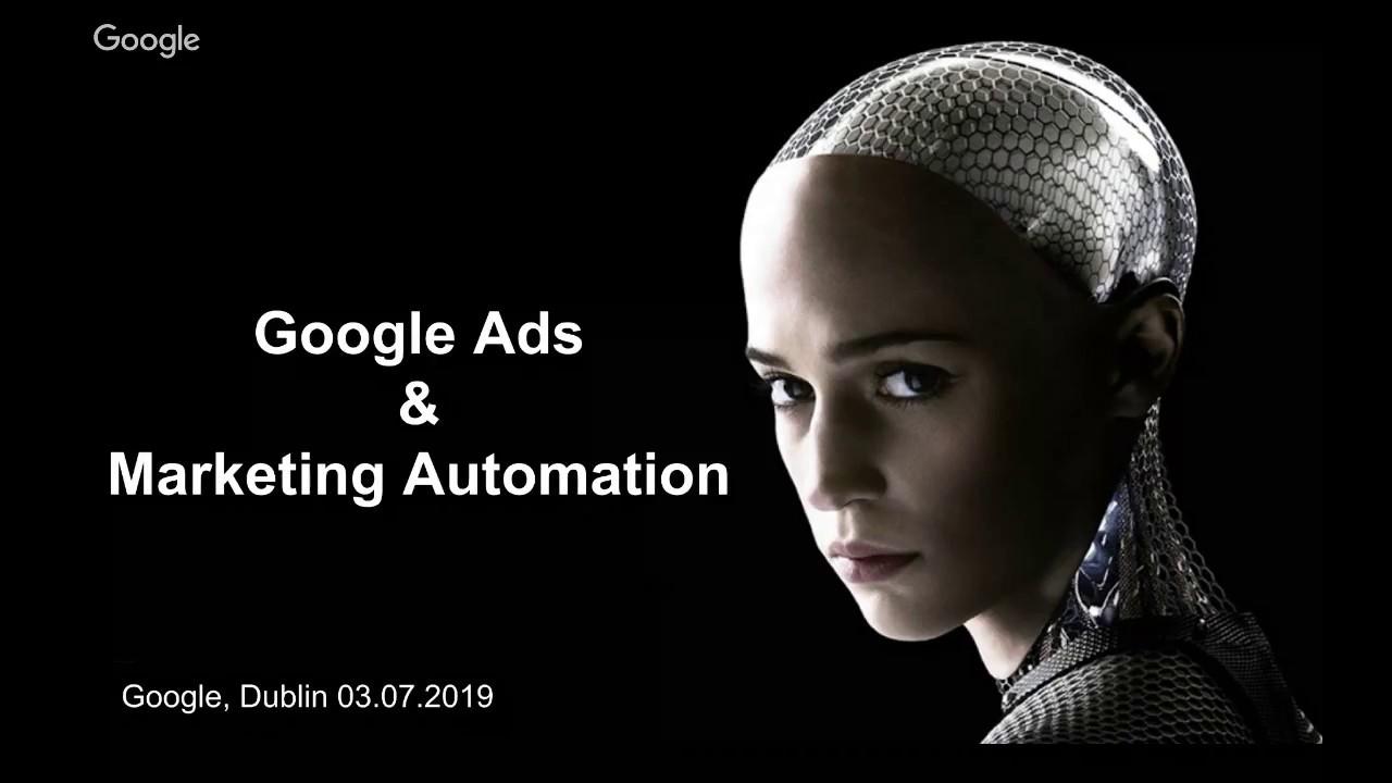 Google Ads & Marketing Automation  - Live Webinar