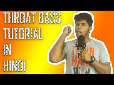 [HINDI] Throat Bass Tutorial | Beatbox