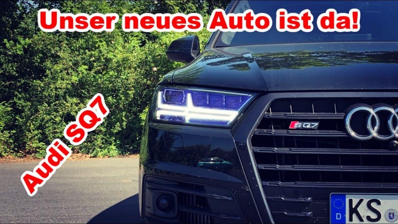 Audi SQ7 I Unser neues Auto ist da!