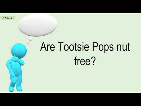 Are Tootsie Pops Nut Free?
