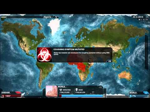 "West African Ebola ""The Pale Horse"" Outbreak 2014 Virus Simulation - Plague Inc"