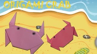 Origami Crab - Origami Easy