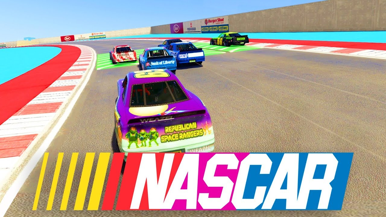 NEW* NASCAR RACE MODE - Grand Theft Auto 5 Multiplayer - YouTube