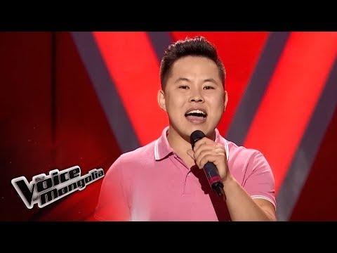 "Zandanshagai.E - ""Stop And Stare"" -  Blind Audition - The Voice of Mongolia 2018"