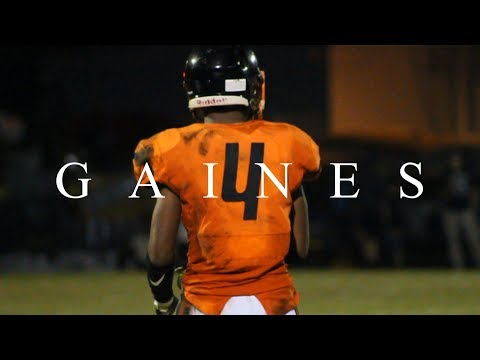 "WILLIE GAINES ""HUMAN JOYSTICK"" - Junior Highlights (Cocoa High School - Varsity Football)"