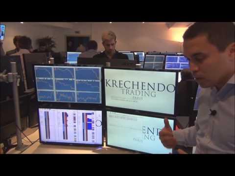 Journée Krechendo Trading - Avec les étudiants de Financia Business School et journalistes