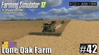 WHEAT HARVEST | Lone Oak Farm | Timelapse #42 | Farming Simulator 17